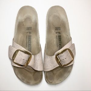 Birkenstock Madrid Big Buckle Metallic 37